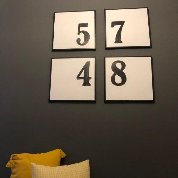 Lienzo números